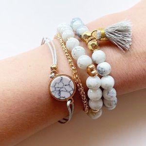 🆕Marble Bracelet Set